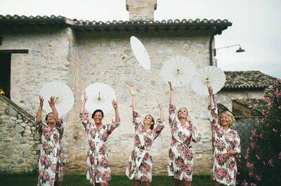 Una mini guida ai 7 peccati capitali che può commettere un'invitata di nozze