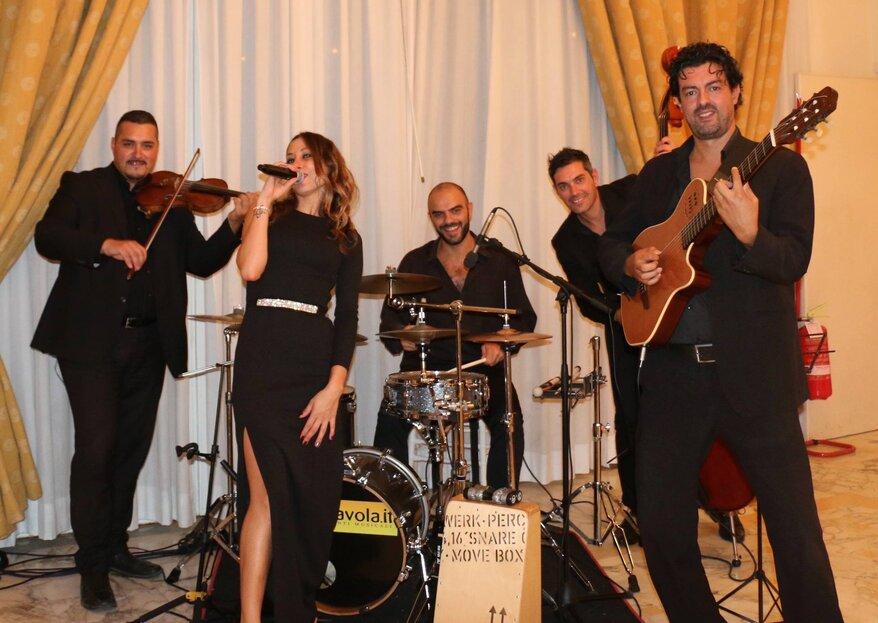 L'intrattenimento musicale che il vostro matrimonio stava cercando con Folk Quartet!