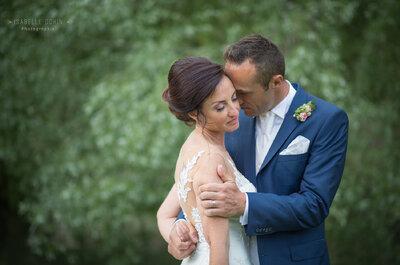 Le mariage romantique de Stéphanie + Adams : Pour une fois, c'est Monsieur qui raconte!