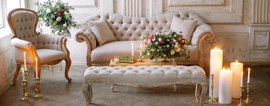 ТОП 6: аренда мебели на свадьбу в Москве