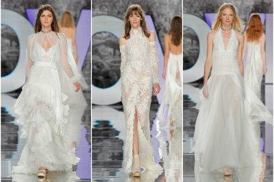 Descubre la nueva colección de vestidos de novia YolanCris 2018: perfectos para las novias Millennials