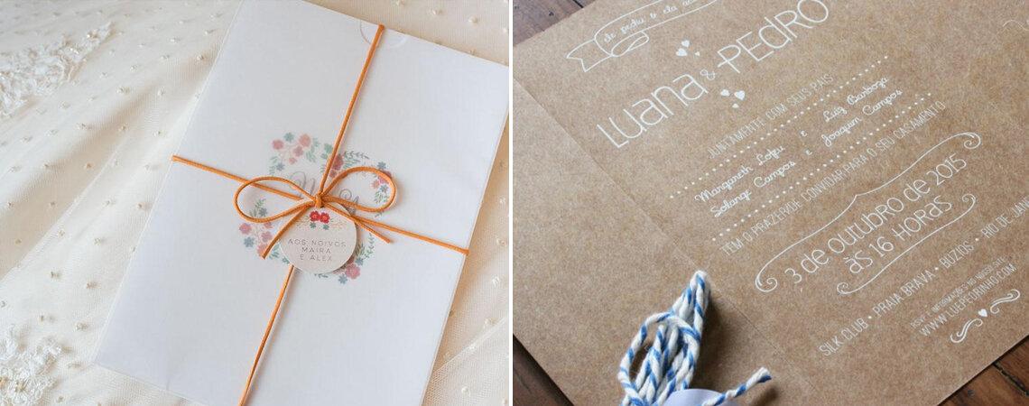 Comunique-se com os convidados: dicas essenciais para convite, Save the Date e site dos noivos!