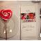 Boda con detalles en color rojo inspirados en San Valentín - Foto Ben Adams