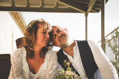 Alain + Guénaëlle : Un joli mariage girondin organisé en... Deux mois !