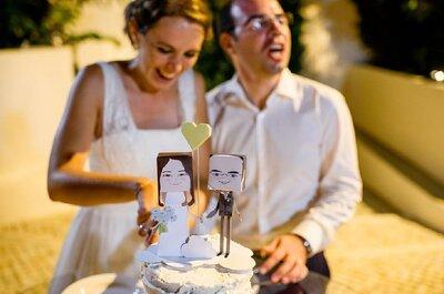 Os novos cake toppers: dos projectos artísticos às impressões 3D