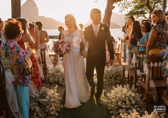 Casando com o mais belo pôr-do-sol que o Pão de Açúcar pode oferecer!
