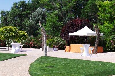 11 ideas originales para celebrar una boda rústica cerca de Madrid en La Huerta del Marqués