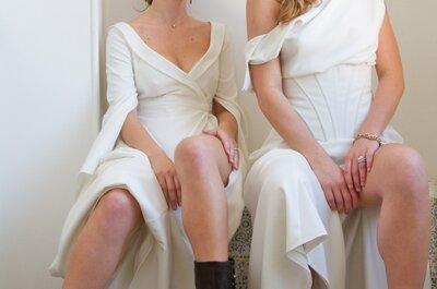 Robes de mariée signées Laure-b-Gady: des créations sur mesure.