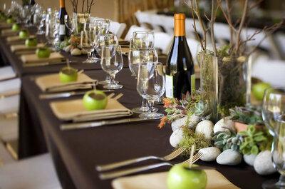 Come sorprendere i tuoi invitati di nozze sin dall'aperitivo: 7 idee semplicemente irresistibili