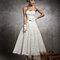 1950´s: Midi length gown