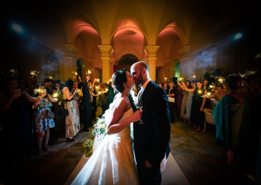 Le nozze perfette di una wedding planner: il matrimonio di Serena e Gianni