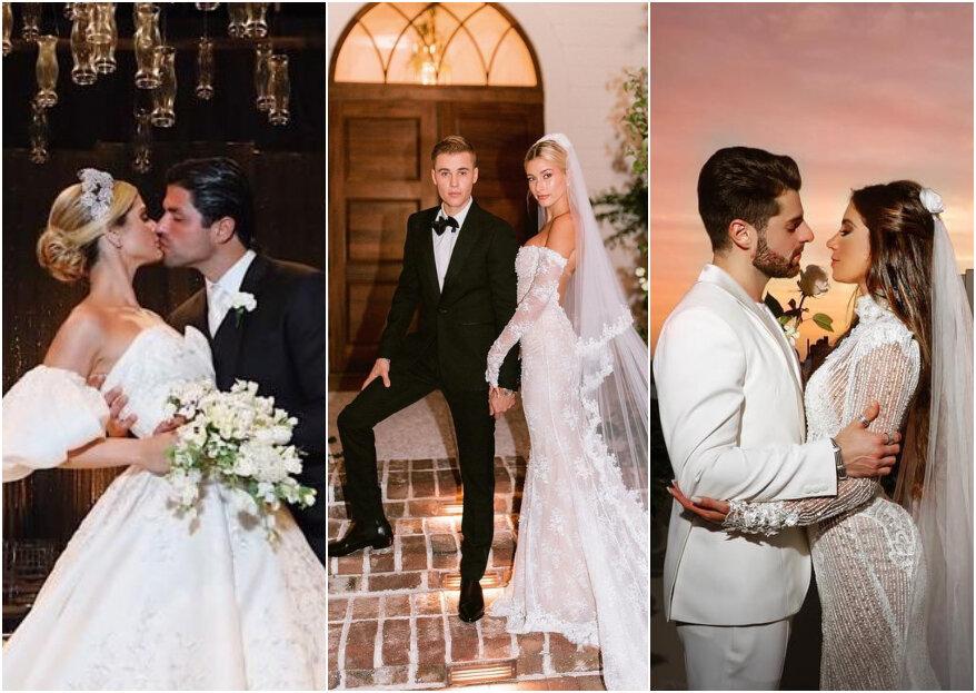 Retrospectiva: Os famosos que se casaram em 2019