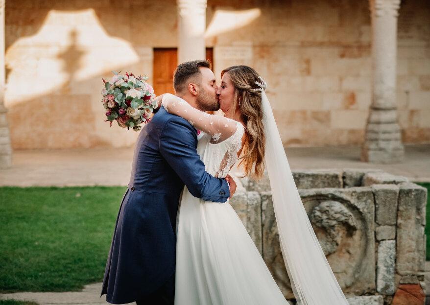 Más de diez años contigo: la boda de Marta y Javier