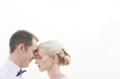 Orla et Nicolas : Une rencontre à New York, une demande en Californie et un fabuleux mariage dans le sud de la France
