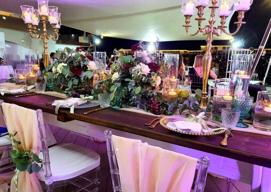 Maria La Marca vi affiancherà con professionalità e consapevolezza per regalarvi un matrimonio perfetto!