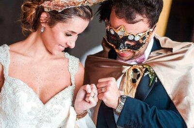Actividades sorprendentes para tu boda. ¡Ningún invitado se lo esperará!