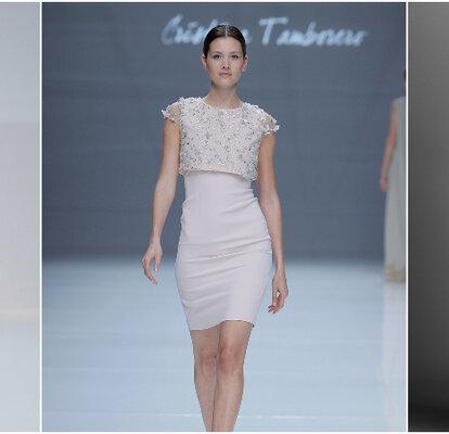 08a0010e4 Vestidos de novia cortos  los diseños más TOP. ¡Atrévete a llevarlos!
