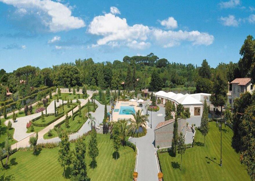 Scegli lo stile liberty per il tuo grande giorno: Villa Marta Madama