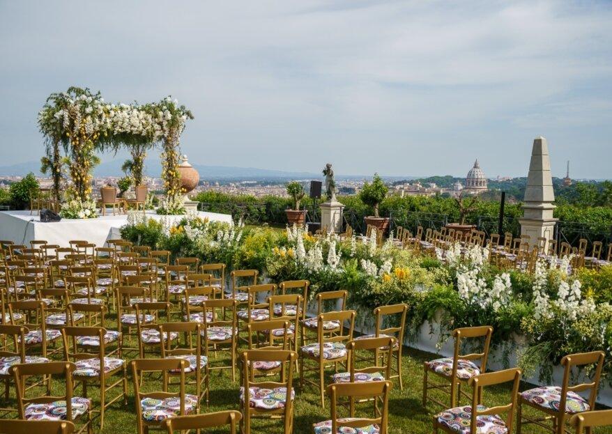 Matrimonio con vista, le nozze esclusive di Laura e Jordan