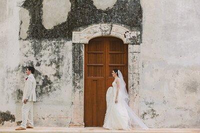 Las cosas que debes hacer antes de que empiecen a tomarte fotos el día de la boda