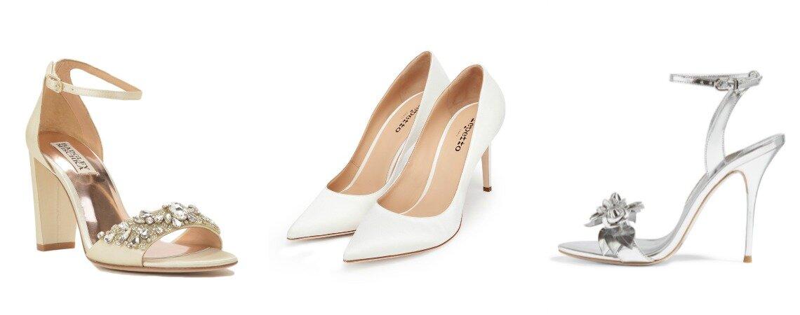 40 zapatos para novias que te harán deslumbrar. ¡No sabrás por cuál decidirte!
