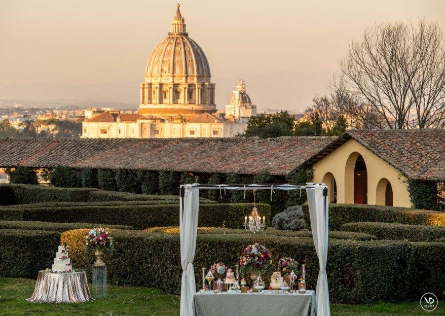 Alla ricerca dell'atmosfera perfetta per le nozze in 10 location