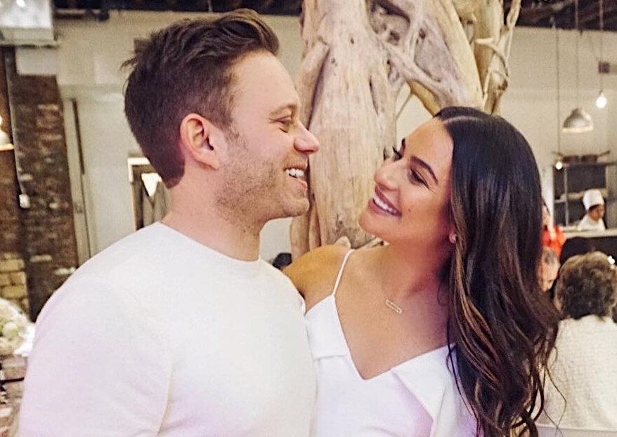 Há fãs da série Glee por aí? Lea Michele casou este sábado!