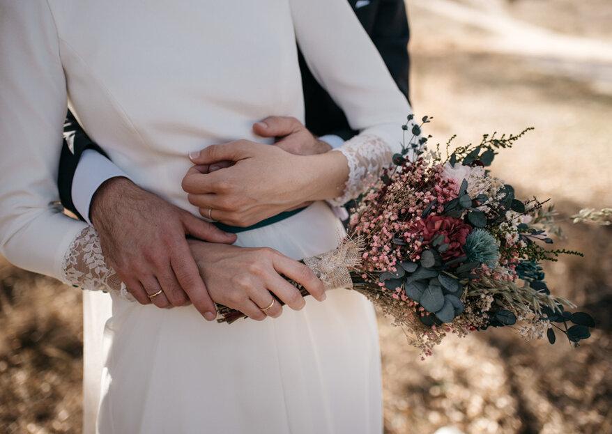 Flores preservadas: por qué son la mejor opción para tu boda