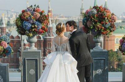 7 самых романтических мест для предложения руки и сердца в Москве!
