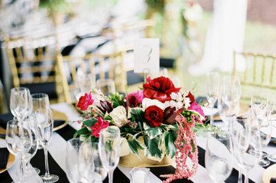 O mise en place perfeito: 5 formas de decorar a sua mesa de casamento