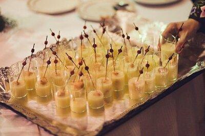 Die Agape – Sekt und kleine Snacks