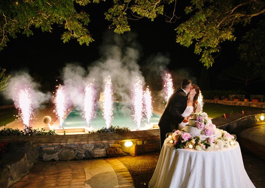 """""""Della stessa sostanza dei sogni"""": così è il matrimonio di Manuel e Francesca a Tenuta di Ripolo"""