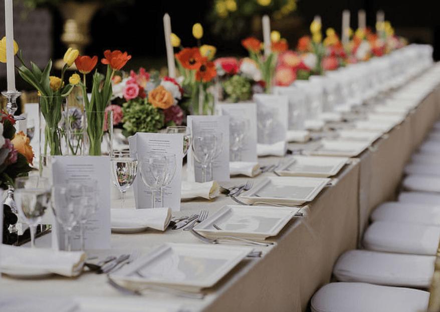 Más allá del menú de bodas: conoce cómo innovar durante el banquete