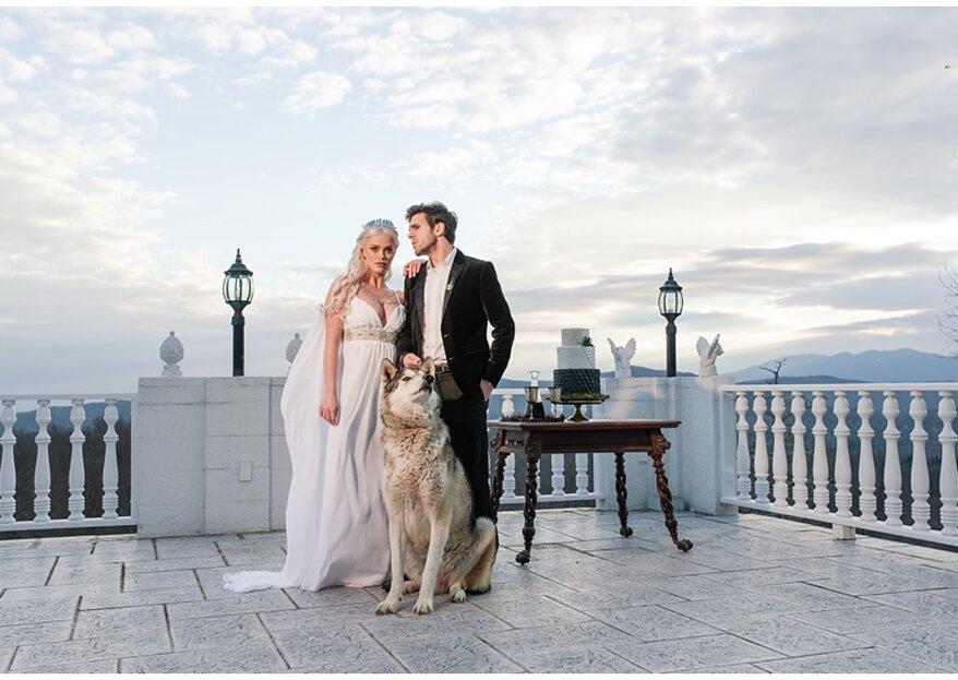 Heiraten im Game of Thrones-Motto: So planen Sie von dieser Saga inspiriert Ihre Hochzeit