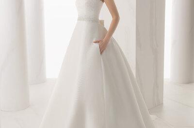 Tendencias vestidos de novia 2015. Alma Novias para novias coquetas y elegantes