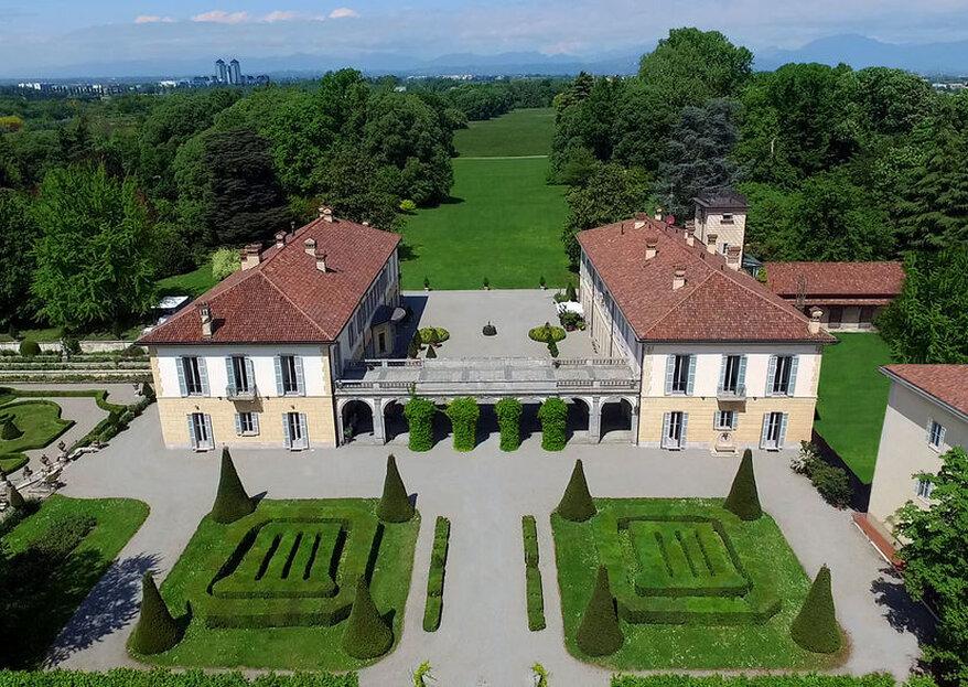 """Il vostro matrimonio nella """"perla verde della Brianza"""": benvenuti a Villa Trivulzio di Omate"""