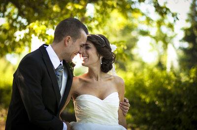 Un amor desde siempre y para siempre: la boda de Marina y Fran