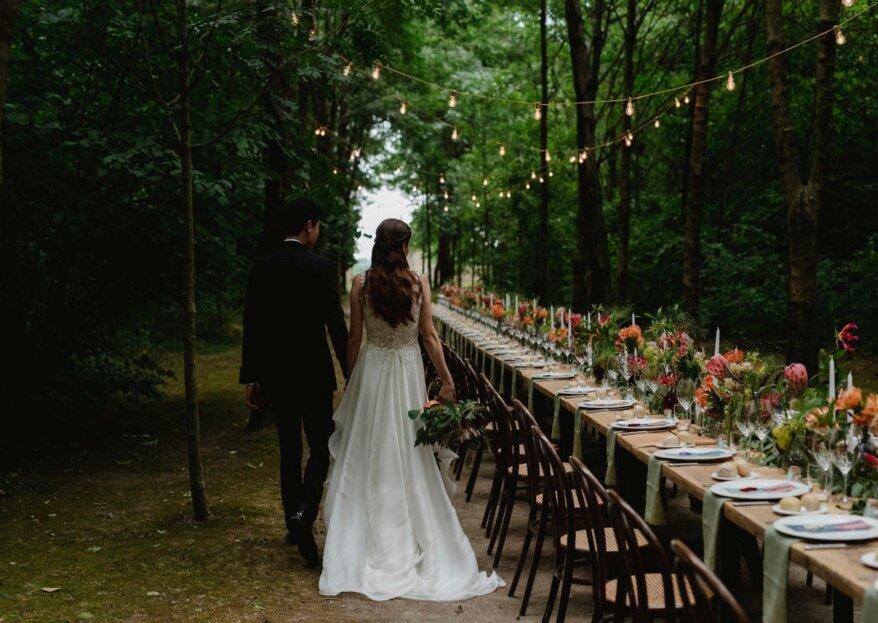 Colori, profumi ed emozioni sono le tre caratteristiche per il tuo matrimonio da sogno