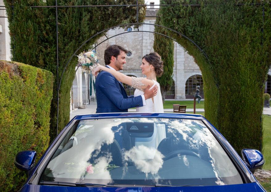 Un shooting de boda romántico y especial en un espacio de lujo: Convento de San Francisco