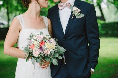 Außergewöhnliche Blumendekoration für die Hochzeit: Echte oder unechte Blumen?