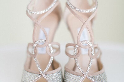 Choose your luxury Jimmy Choo style to create a show stopping strutt for your 2016 wedding