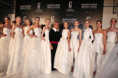 Hermosa colección de vestidos de novia Rosa Clará 2014