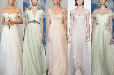 Damos as boas-vindas às tendências em vestidos de noiva com as colecções 2015