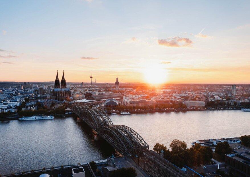 Die 12 schönsten Hochzeitslocations in Köln: heiraten in der pulsierenden Domstadt!