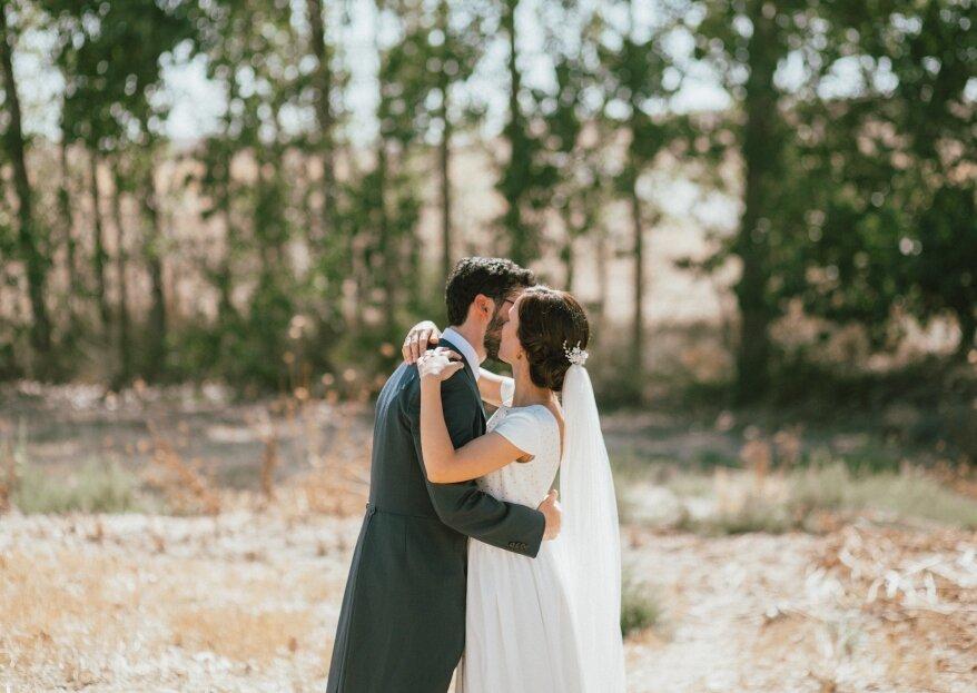Imágenes que hablan por sí solas: la boda de Patricia y Francisco