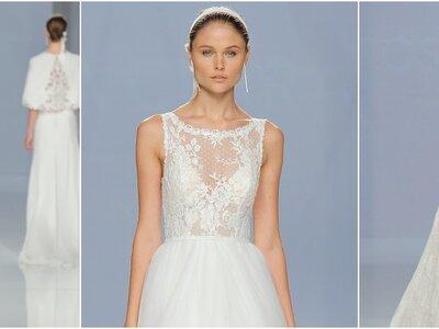 Fotos colección Rosa Clará 2018: vestidos de novia llenos de amor