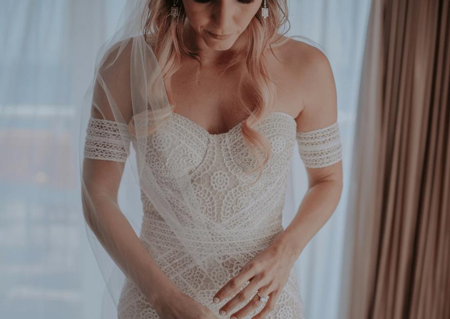 Las claves para conseguir un escote de novia de infarto