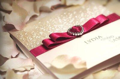 Hochzeitskarten kreativ designed: Pamas macht Hochzeitsträume wahr!