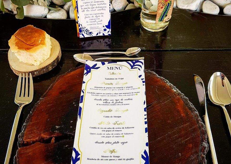 Piedra y Madera Banquetes te brindarán todo lo necesario para tu gran día