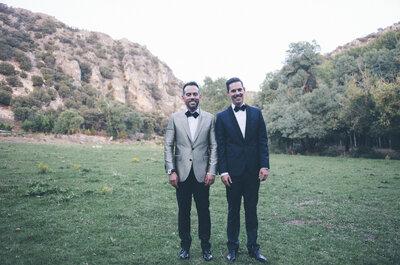 Amor y magia: la boda de Emilio y Fabrice